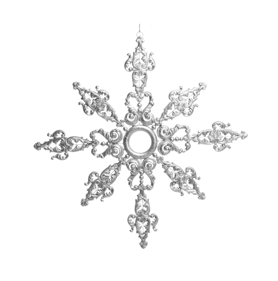 Snöflinga i Silver