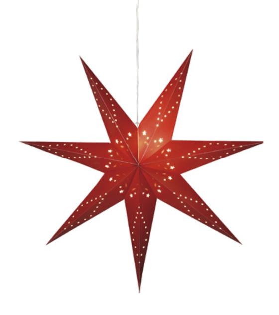 Adventstjärna Katabo Röd 100cm