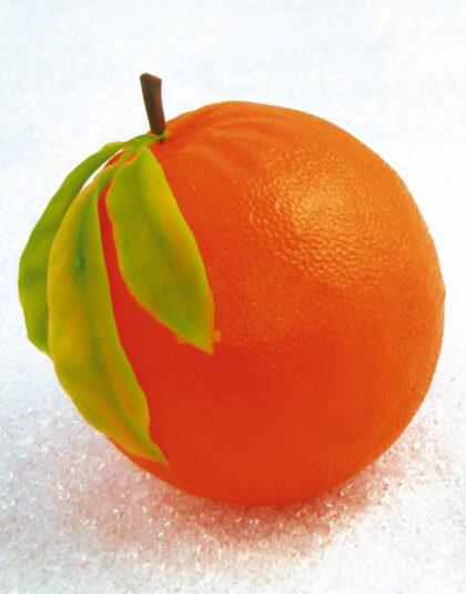 Stor Apelsin med Blad
