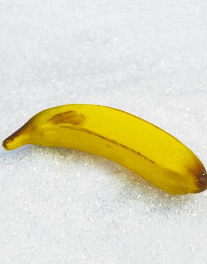 Banan i Naturlig Storlek