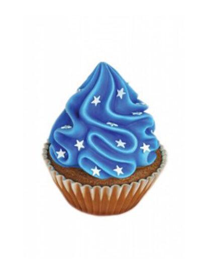 En Blå Cupcake