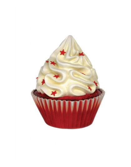En Vit Cupcake