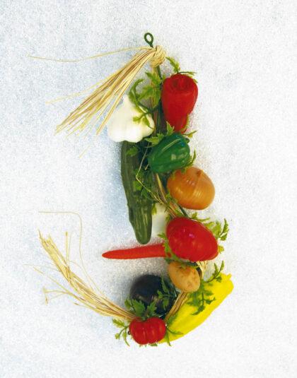Härligt blandad Grönsaksgirlang