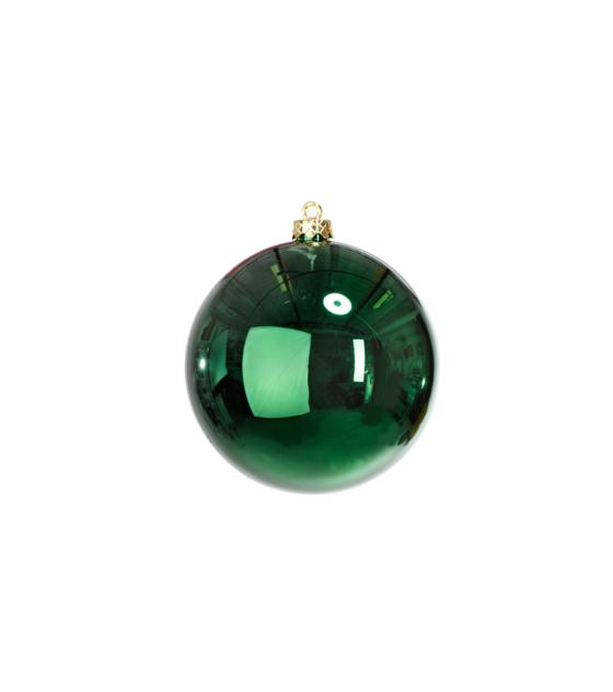 En Klassisk Grön Julkula