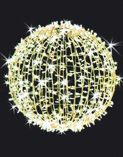 Ljusboll 80cm Varmvit