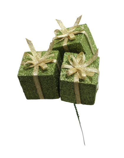 Gröna Paket på Sticka