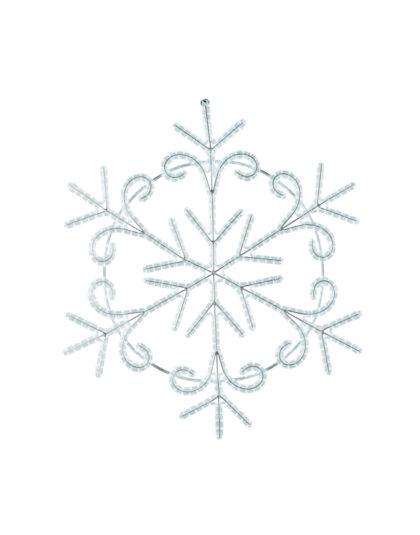 Snöflinga LED 120cm Kallvit