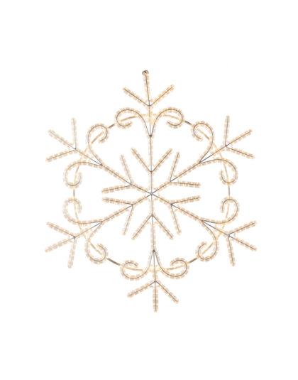 Snöflinga LED 120cm varmvit