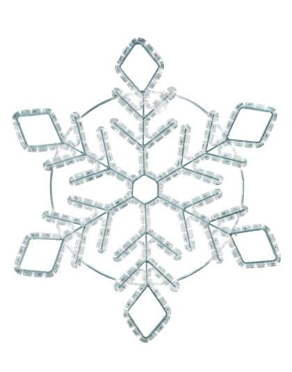 Snöflinga LED 150cm kallvit
