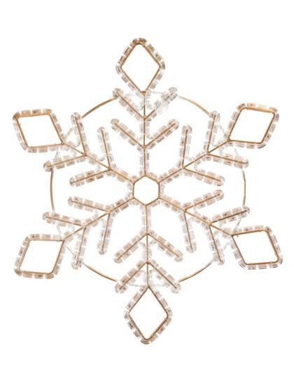 Snöflinga LED 150cm varmvit