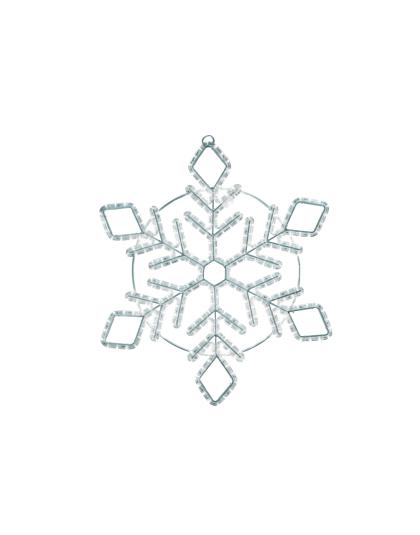 Snöflinga LED 80cm kallvit B