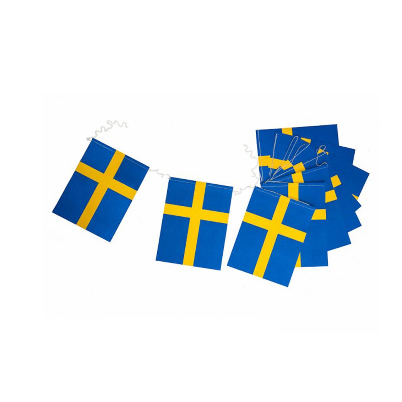 Flaggspel Sverige A3