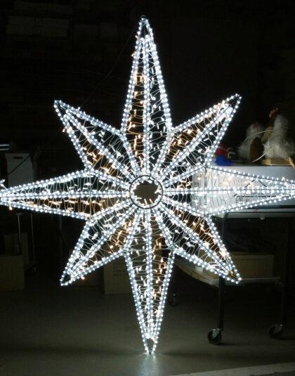 stjärna 2x2m