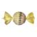 Kula Karamell Rund Guld
