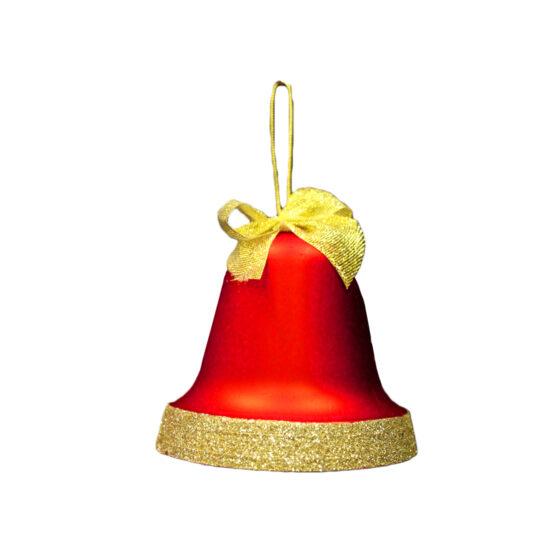 Kula Klocka 8cm Rödmatt