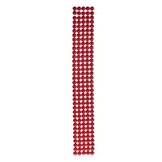 Kulband av 6cm Röda Kulor