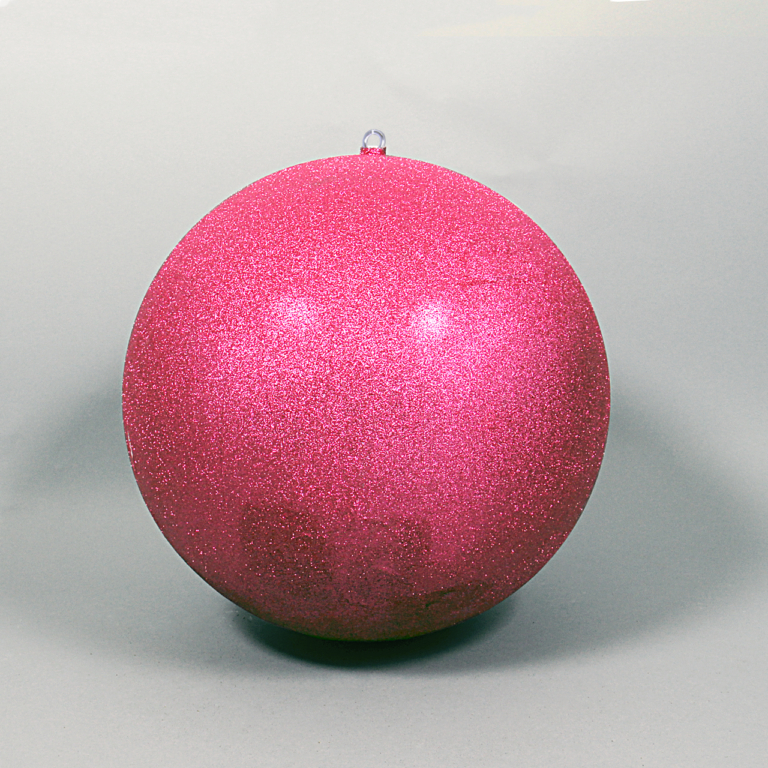 Rosa kula glitter