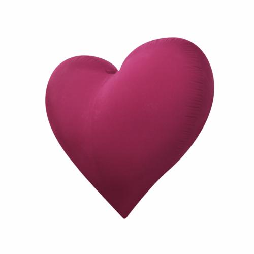 Hjärta stort uppblåsbart