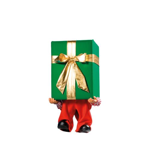 0533 Tomtenisse med julklapp
