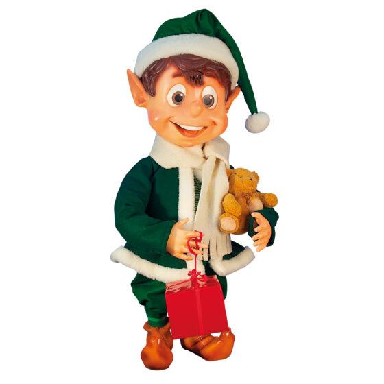 0723 Alvpojke med julklapp