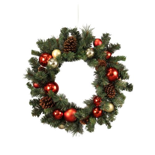 Julkrans för juldekoration i butik