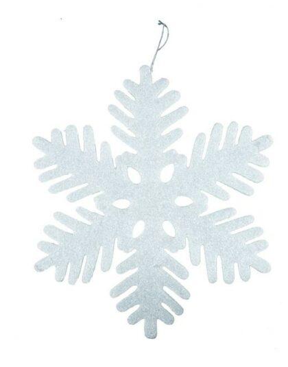 47 cm snöflinga för butiksdekoration